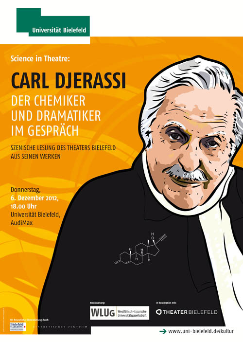 Din A1 Plakat Djerassi_Science in theatre 2012.indd