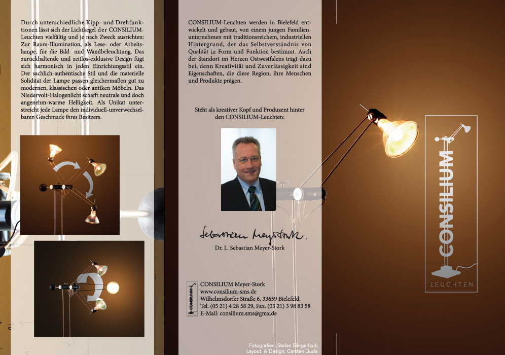 6 Seiten Flyer Consilium-Leuchten vek 3mm Beschnitt.indd